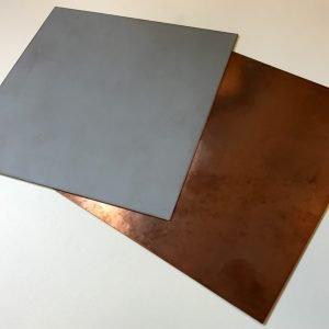 Metalized Aluminum Nitride ALN - single sided